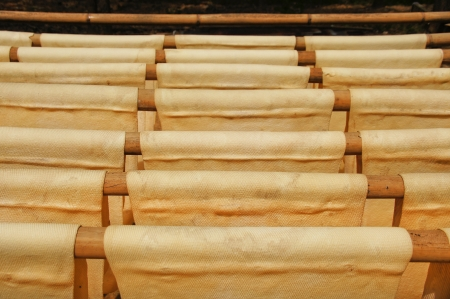 rubber sheet: Dried rubber sheet For use in industry