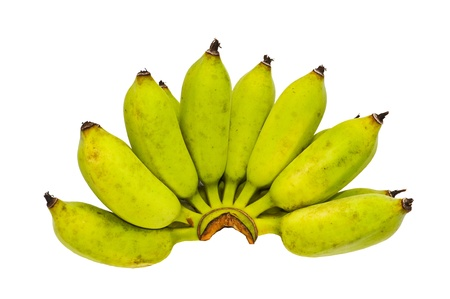 bananas isolated on white Stock Photo - 14150019