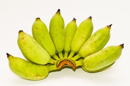 bananas isolated on white Stock Photo - 14150031
