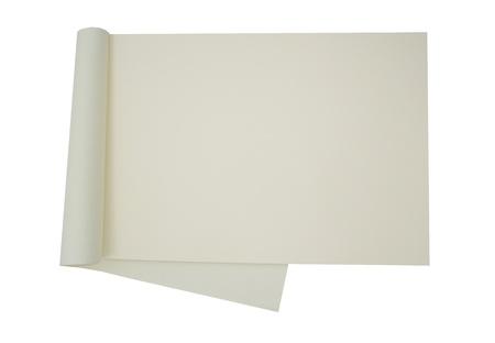 cream colour: Carta color crema vuota