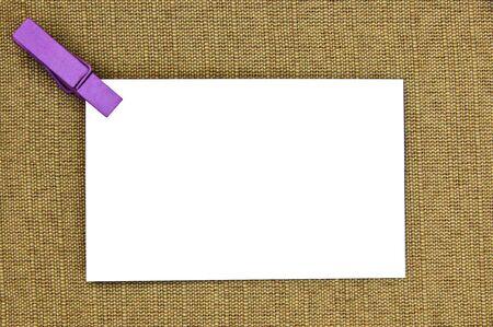 hand woven: carta banca su tessuti a mano