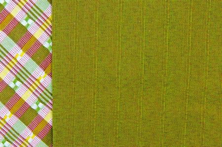 Hand woven fabrics photo