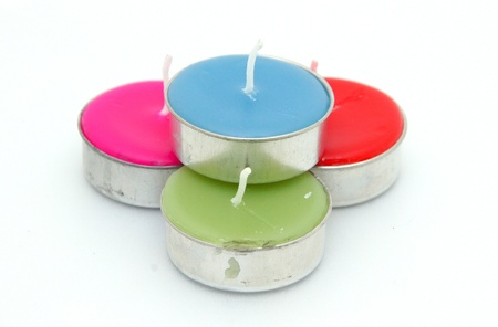 Spa candle for relaxation. Stock Photo - 15367344