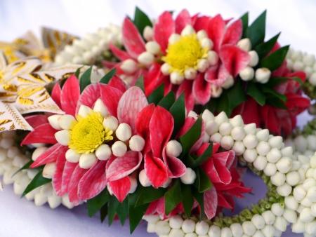 Flower for thai wedding ceremony.