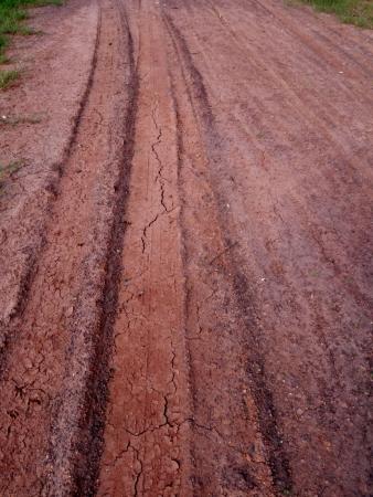 muddy tracks: Grunge Road Background