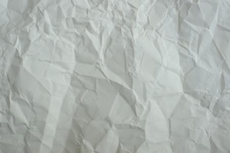 Wrinkled paper photo