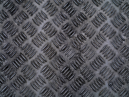 Old stainless steel floor. Stock Photo - 16564076