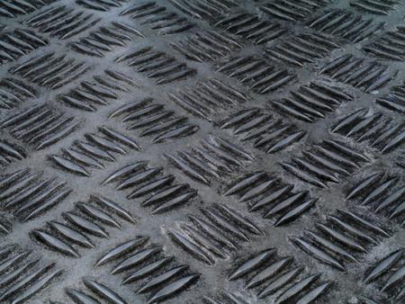 Old stainless steel floor. Stock Photo - 16563784