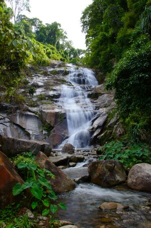 waterfall and rocks, Thailand Stock Photo - 16580029
