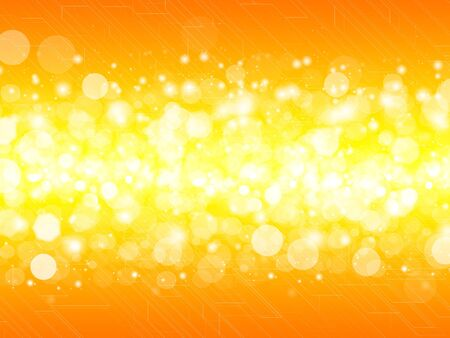 diffuse background, orange color photo