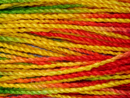 Colorful paper rope. Stock Photo - 16942202