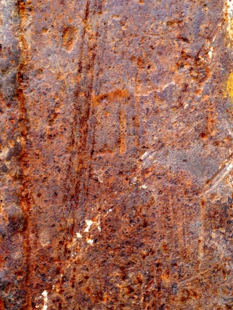 Seamless Rust Texture as Rusted Metal Background Stock Photo - 17313390