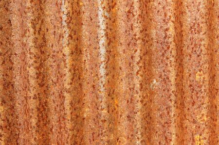Old zinc sheet Fill with beautiful rust Stock Photo - 18301497