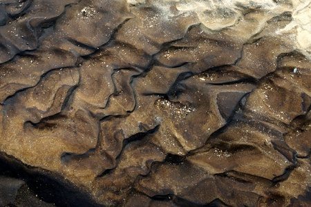 excremental: Black sand, Wastewater from the industry. Global warming.