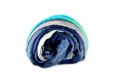 Hand woven fabrics. photo