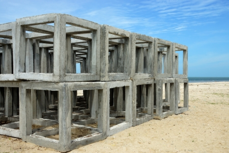 Artificial cube Reef Stock Photo - 20882549