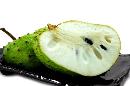 Soursop, Prickly Custard Apple. (Annona muricata L.) Treatment of cancer.
