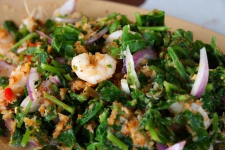 stir up: Fried vegetables.