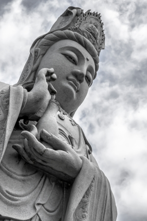 Guanyin statue in Thailand  From a public place
