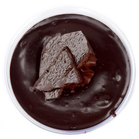 Chocolate sheet cake. photo