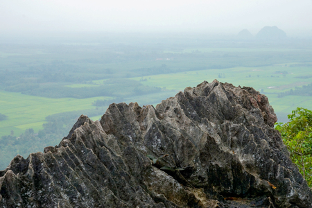 southern of thailand: Limestone peaks of southern Thailand