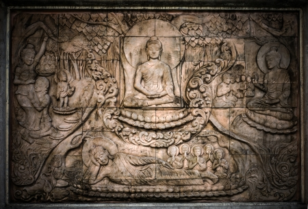 The story of Buddhist sculpture. photo