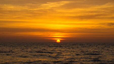 andaman: Andaman Sunset. Stock Photo