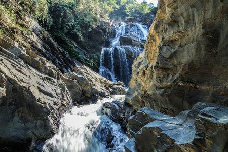 krung: Krung Ching waterfall National Park Nakhon Si Thammarat, Thailand.