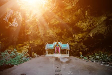phraya: Royal pavilion in the Phraya Nakhon Cave, Prachuap Khiri Khan, Thailand.