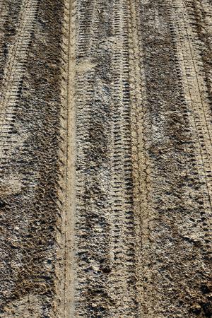 Wheel track racing motorcycle motocross. Stock Photo - 27956782