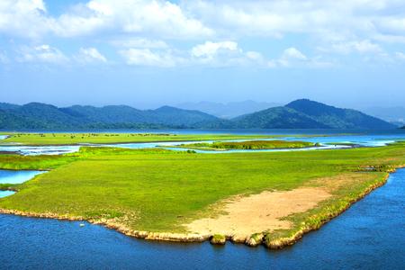 southern thailand: Wildlife sanctuaries of southern Thailand. Stock Photo