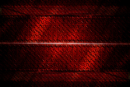 Background texture of red staircase stainless steel. photo