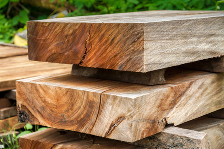 Wood for industrial photo