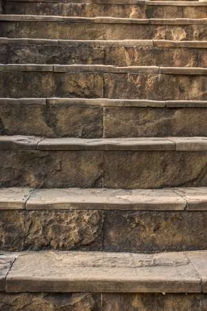 laterite: laterite stairs Stock Photo