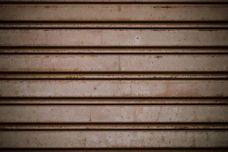 aluminum sheet: Old sheet aluminum door.