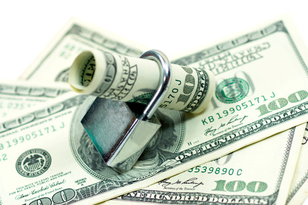 cash money: Locked cash money.