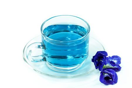 Blue tea from Butterfly pea flower Reklamní fotografie