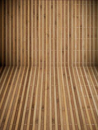 bonding rope: Bamboo mat
