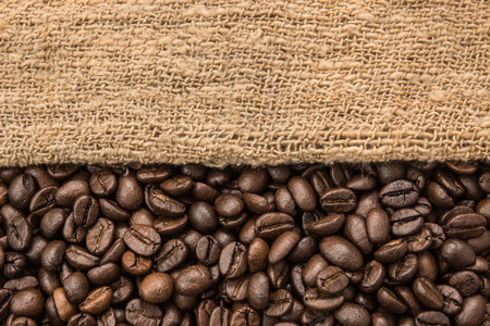 hand woven: Hand woven and Coffee beans