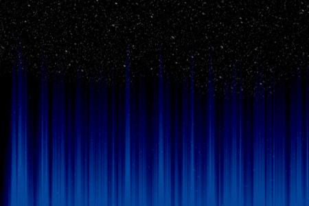 fractal design element or art background: Spectrum abstract color on the black background