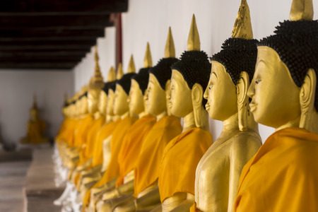 olds: Olds Buddha statue at Wat Wang, Pattalung, Thailand. Stock Photo