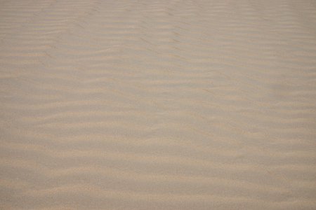 Lines in the sand of a beach. Stock Photo