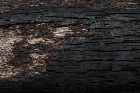 quemado: Los detalles sobre la superficie del carbón. Foto de archivo