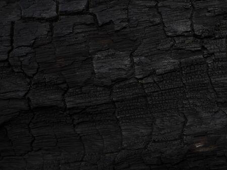Imagen de clave baja la superficie del fondo de carbón. Esta imagen no está enfocada. Foto de archivo