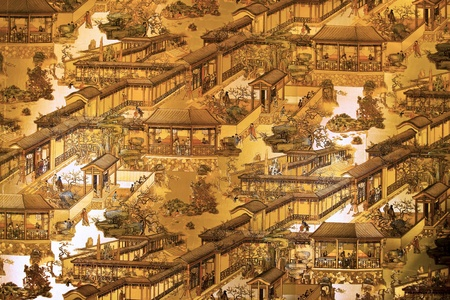 paintings: city of china painting