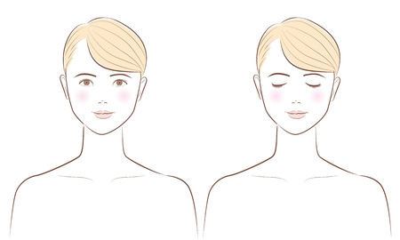 Beauty Facial Vector