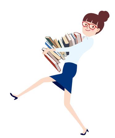 librarian Illusztráció