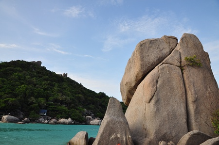 Nangyuan island one of the most famous travel destination in Thailand Stock Photo - 13487276