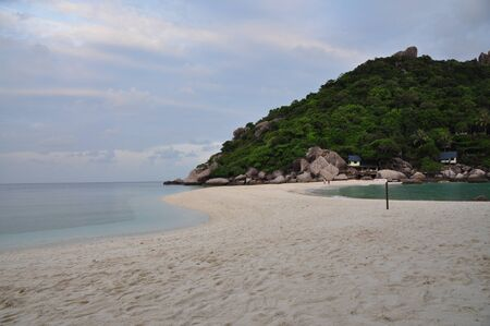 nangyuan: Nangyuan island one of the most famous travel destination in Thailand Stock Photo
