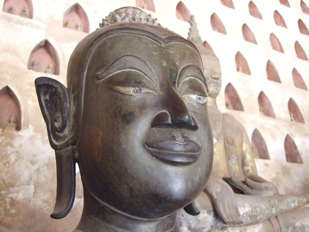 Face of Buddhism Statue Stock Photo - 13757936